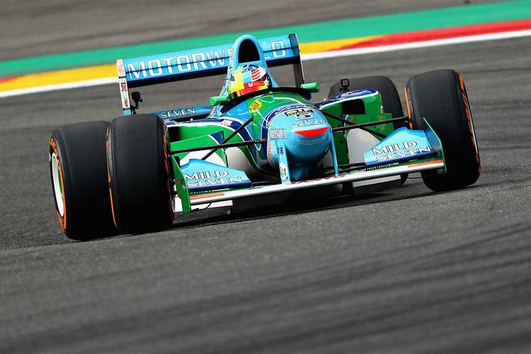 Michael Schumacher Benetton B194 Spa-002