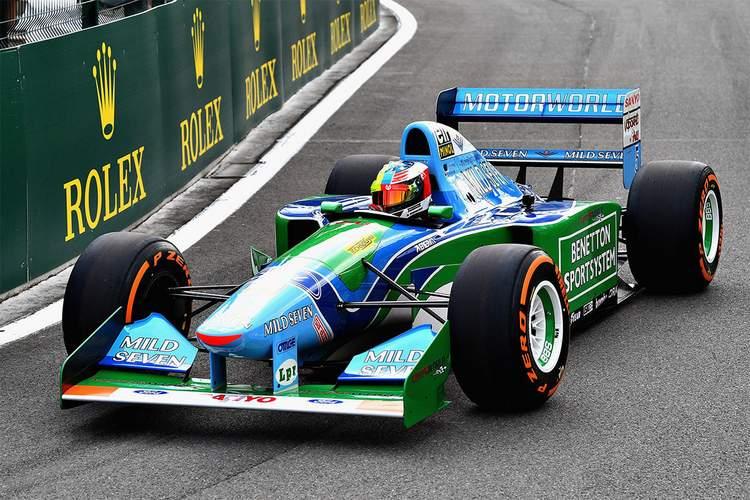 Michael Schumacher Benetton B194 Spa-003