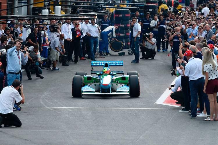 Michael Schumacher Benetton B194 Spa-004