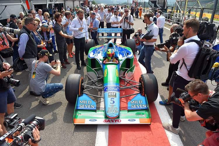 Michael Schumacher Benetton B194 Spa-005
