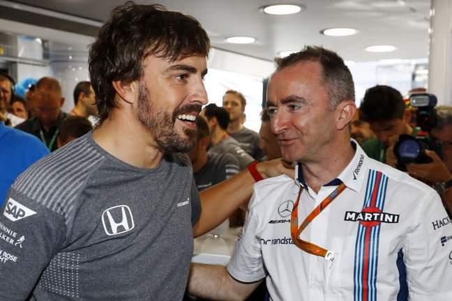 Paddy Lowe, Fernando Alonso