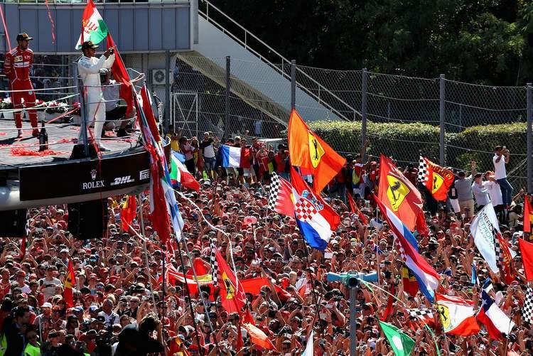 Lewis hamilton, Monza podium