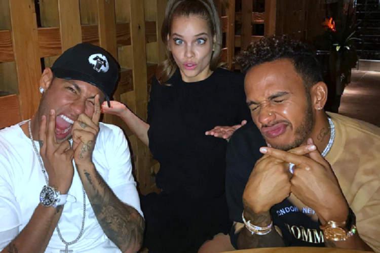 Hamilton-Neymar-Party