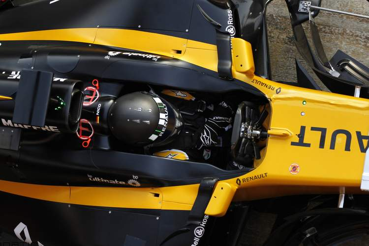 Renault F1 cockpit