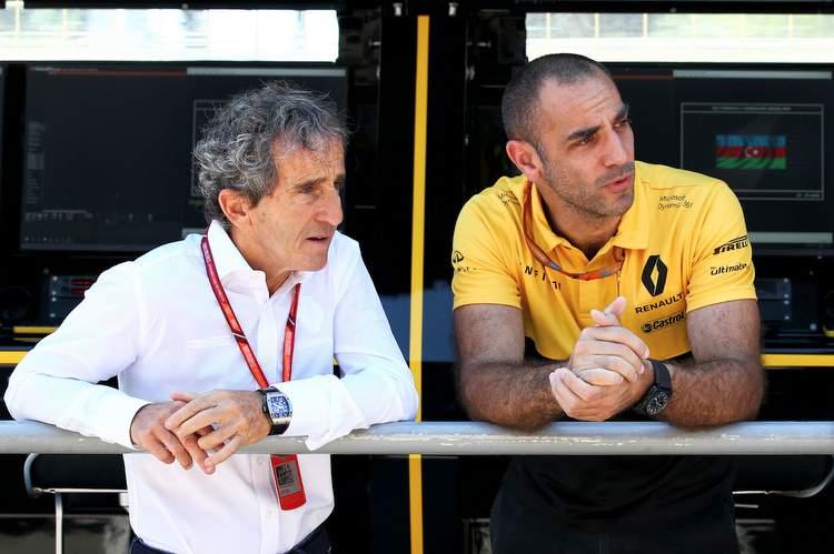 Alain Prost, Cyril Abiteboul