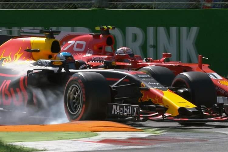 Ricciardo, Raikkonen