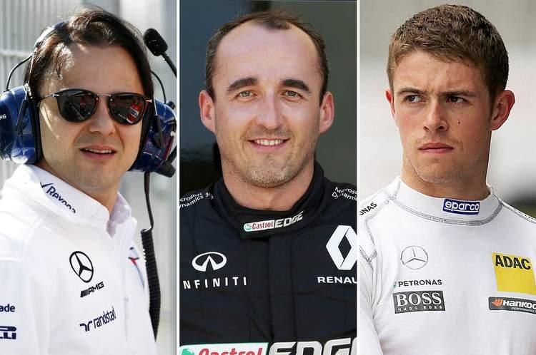 Felipe Massa, paul di resta, robert kubica