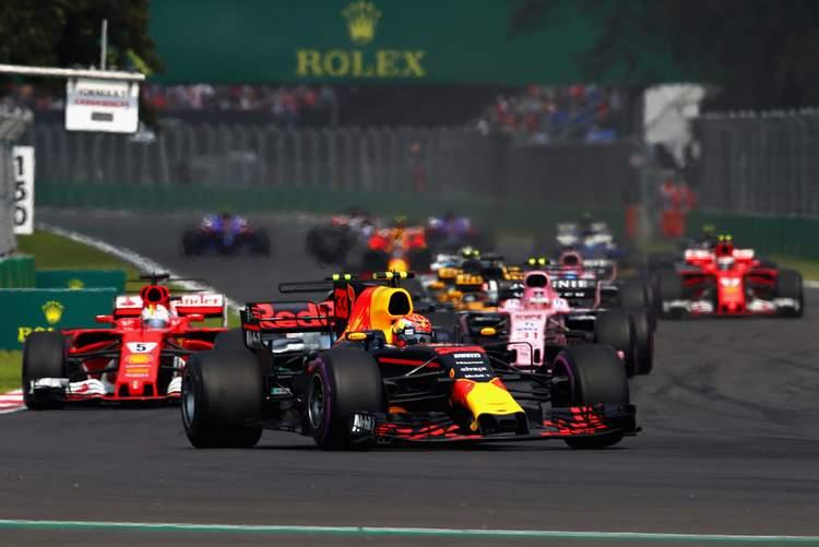 Mexican Grand Prix start