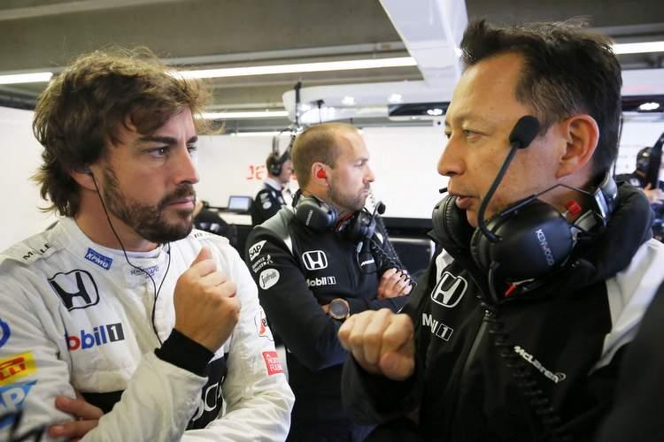 Fernando Alonso, Yusuke Hasegawa