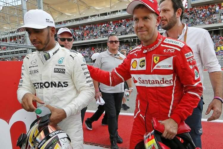 Vettel Hamilton