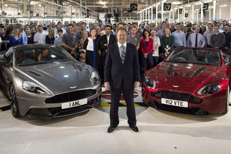 Andy Palmer, Aston Martin