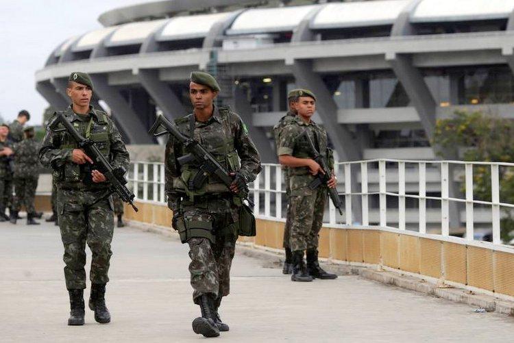 police patrol stadium