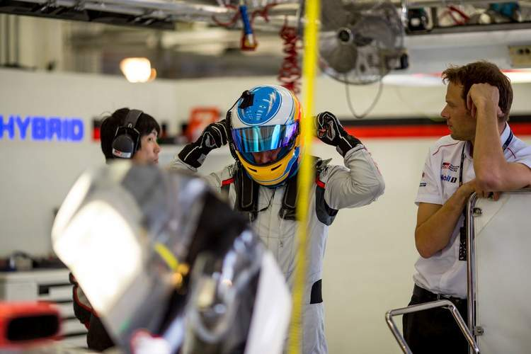 Fernando Alonso toyota