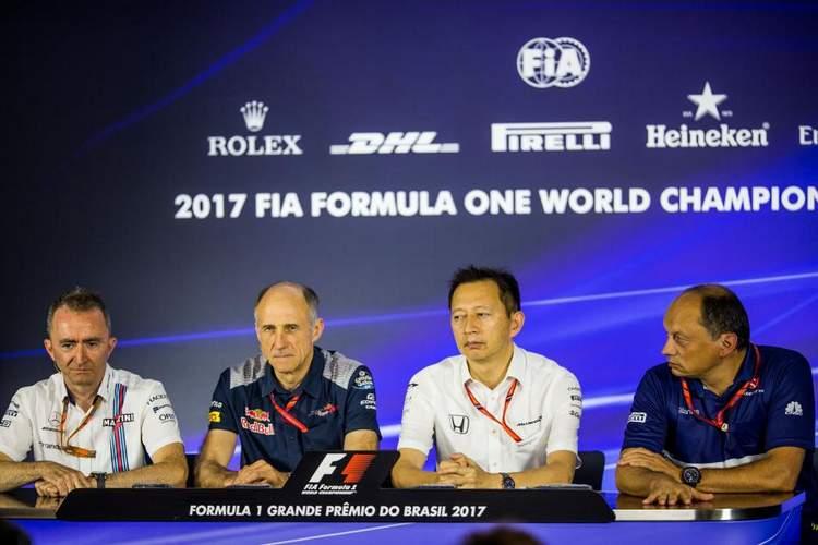 Yusuke Hasegawa,Honda, Franz Tost,Toro Rosso, Paddy Lowe,Williams,Frederic Vasseur,Sauber