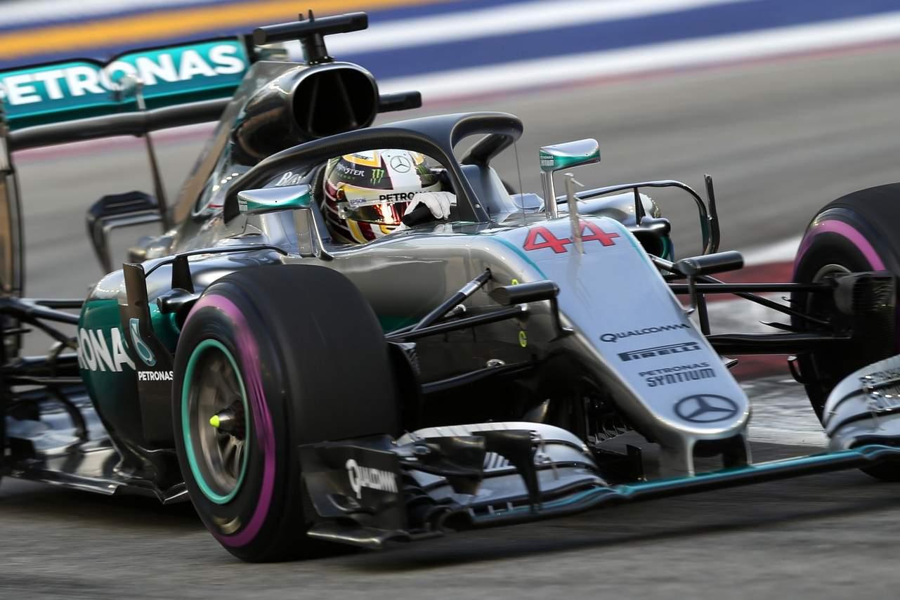 Lewis Hamilton, Halo