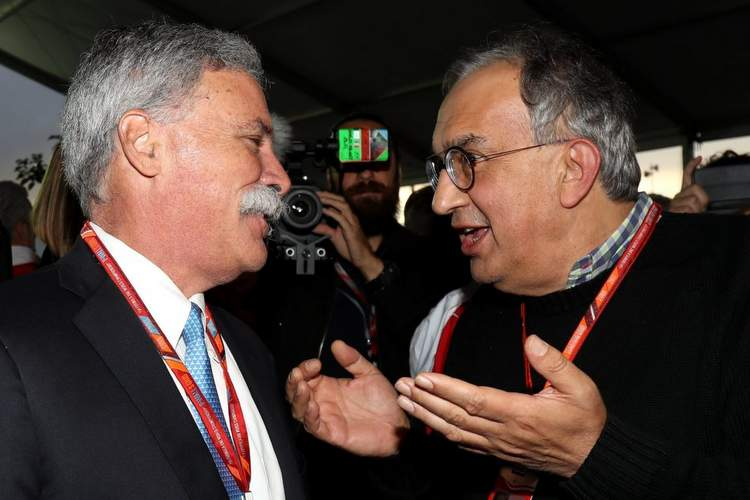 Chase Carey, Sergio Marchionne