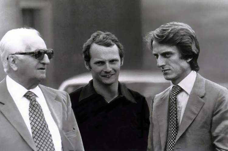 Enzo-Ferrari-with-Nikki-Lauda-and-Luca-id-Montezemolo