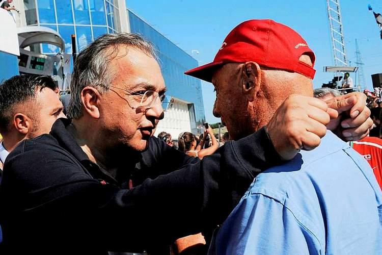 Marchionne: No place at Ferrari for a prophet like Lauda