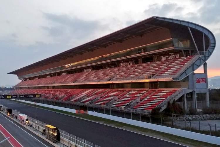 Barcelona grandstand