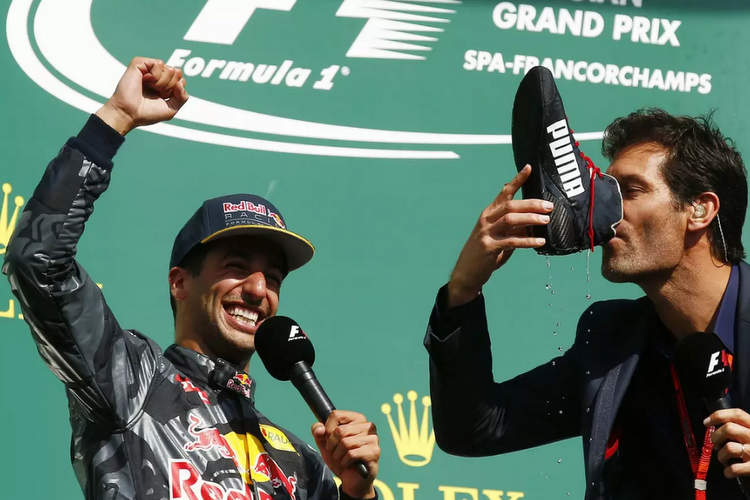 Mark Webber, Daniel Ricciardo