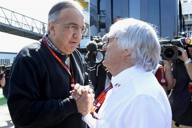 Sergio Marchionne, Bernie Ecclestone