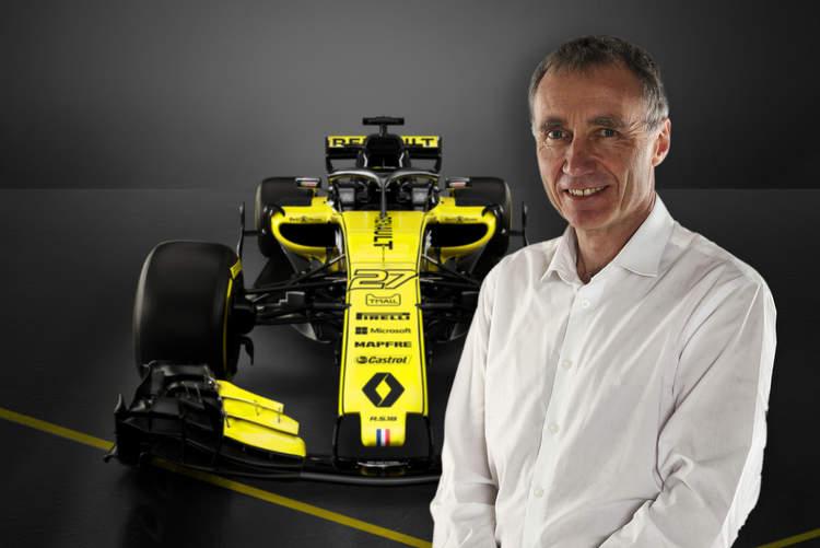 Bob Bell, Renault, RS18