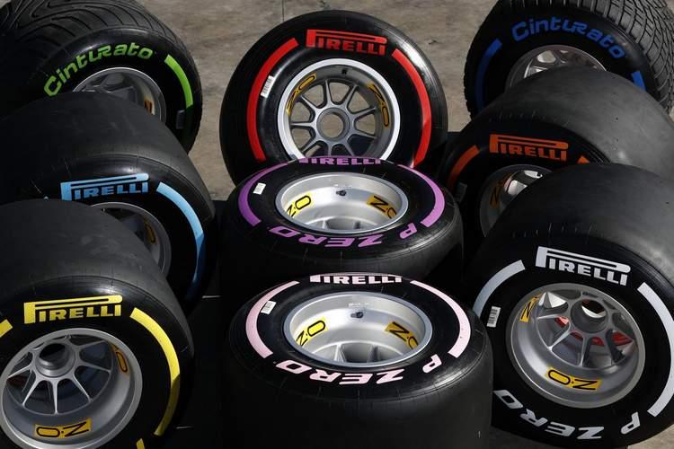 Αποτέλεσμα εικόνας για formula 1 2018 pirelli tires
