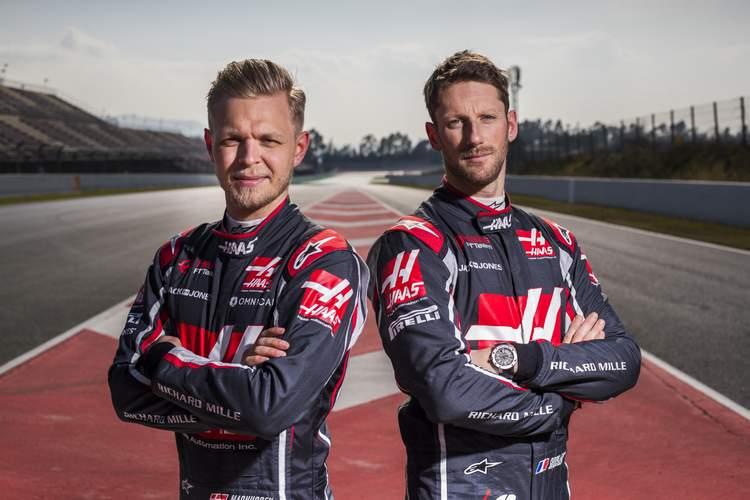 Magnussen, Grosjean