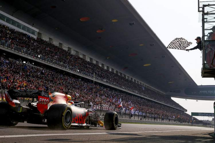 2018 Chinese Grand Prix Race Photos