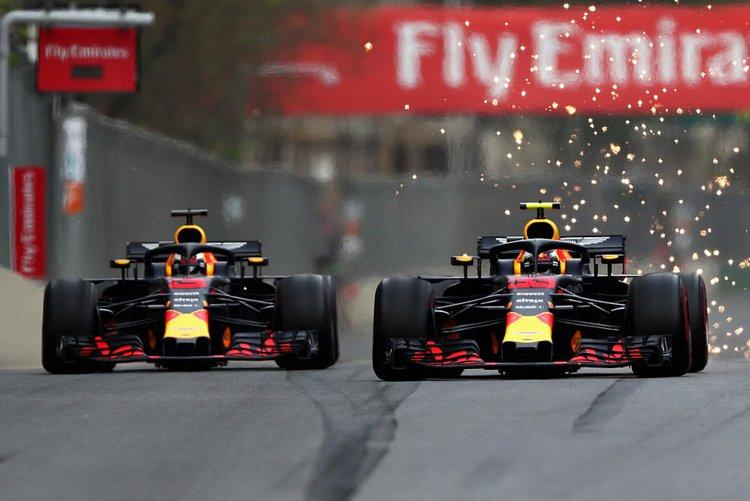 Ricciardo, Perez
