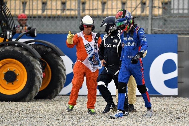 Hartley, crash
