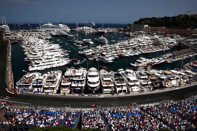 Les fans du Grand Prix de Monaco Crwods