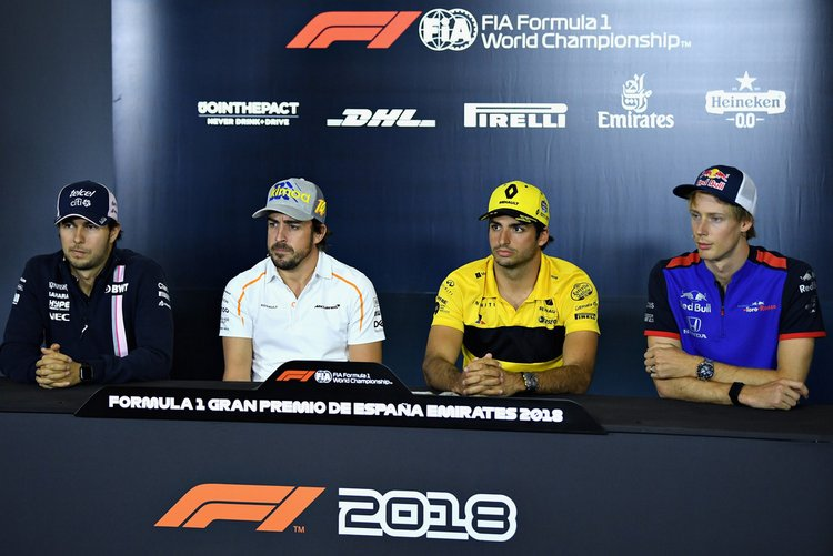 bb90b914dd0 Full transcript from the FIA hosted drivers  press conference ahead of the  Spanish Grand Prix weekend