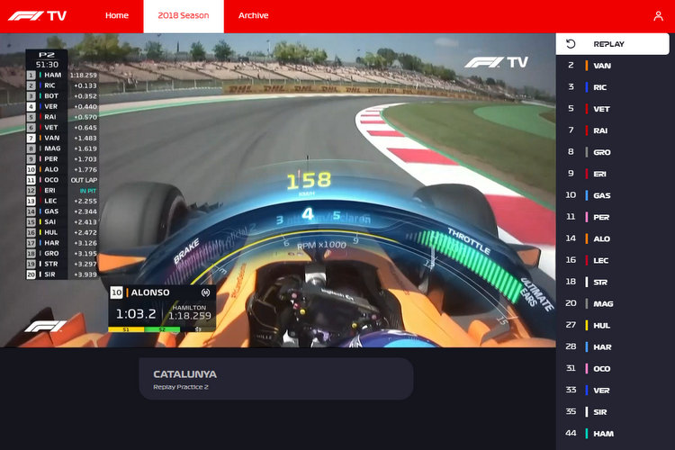 Inside Line: F1 TV great idea and lots of potential | GRAND