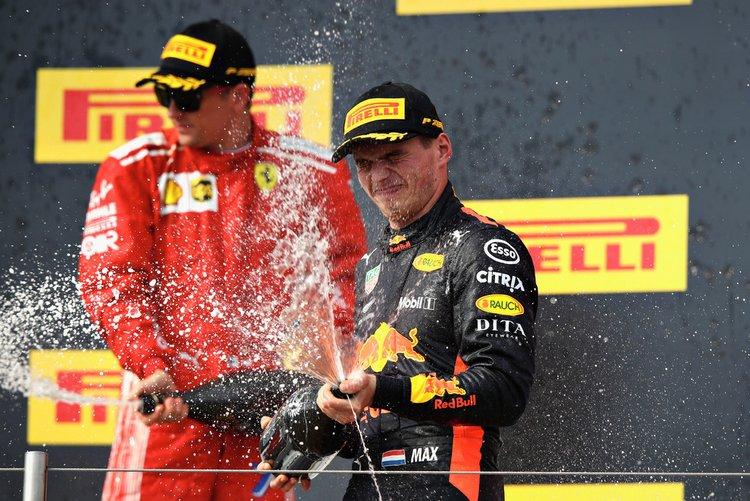 2018 French Grand Prix podium-007