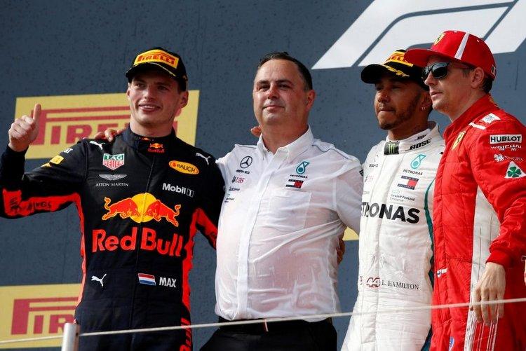 2018 French Grand Prix podium-011