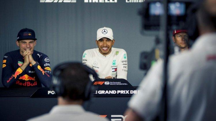 2018 French Grand Prix podium-016