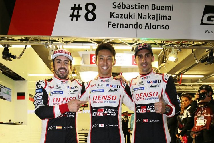 Buemi, Nakajima, Alonso