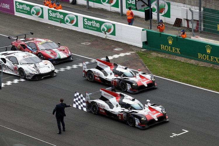 TOYOTA GAZOO Racing.<br /> Le Mans 24 Hours Race, 11th to 17th June 2018<br /> Circuit de la Sarthe, Le Mans, France.
