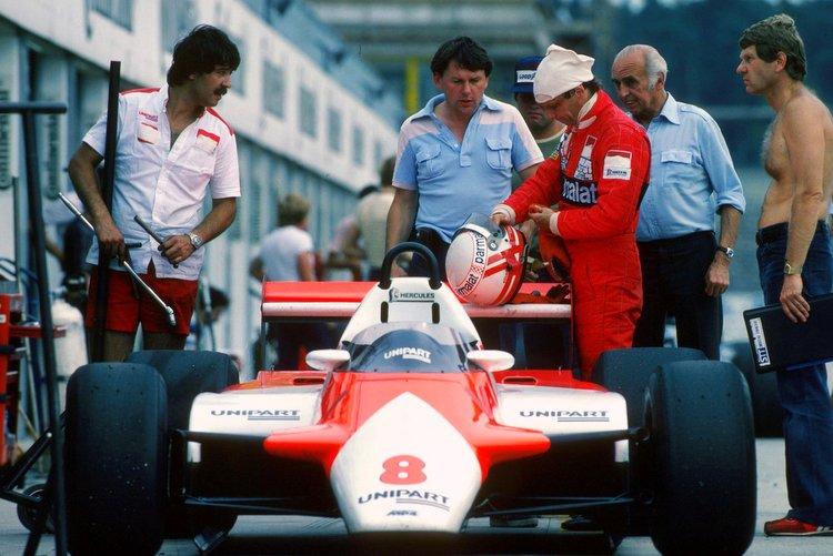 barnard, McLaren, Lauda