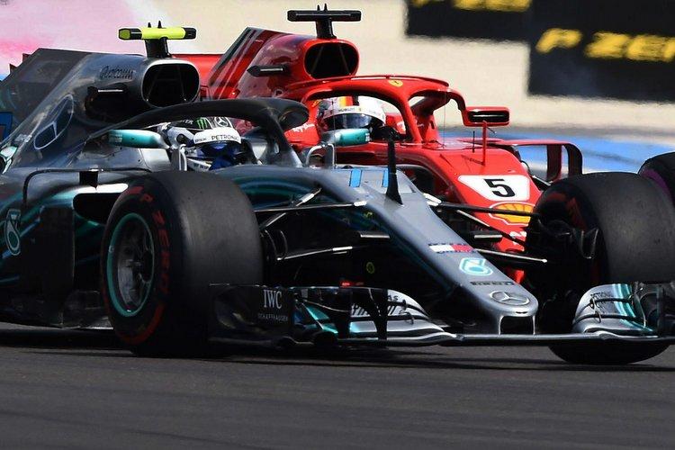 Bottas vs Vettel