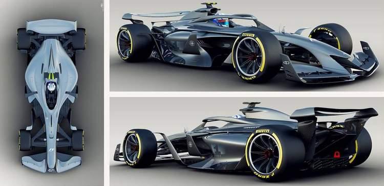 Formula 1 release visuals of 2021 Concept Car | GRAND PRIX 247