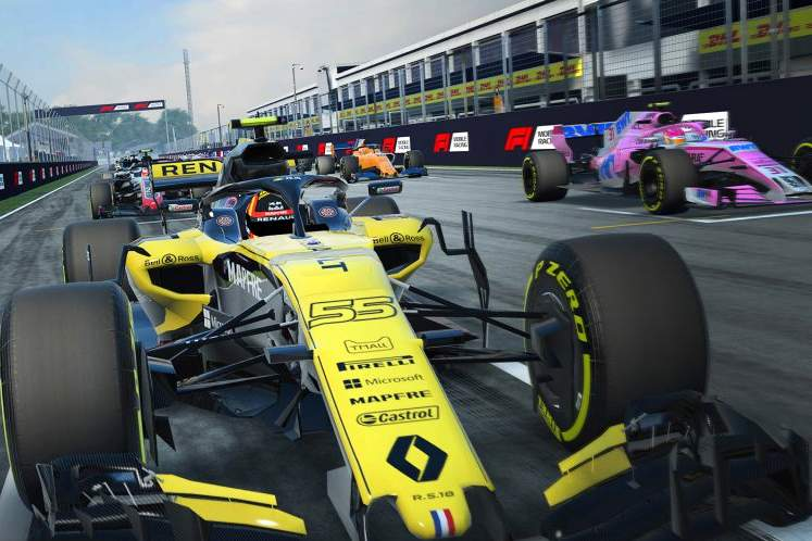 F1 Mobile Racing launches 18th October worldwide