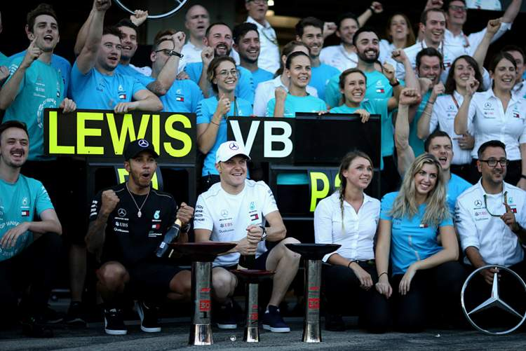 Bottas: My job was to bring the car home in P2