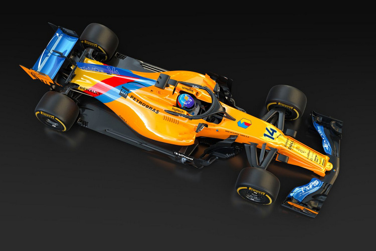 Special livery Alonso