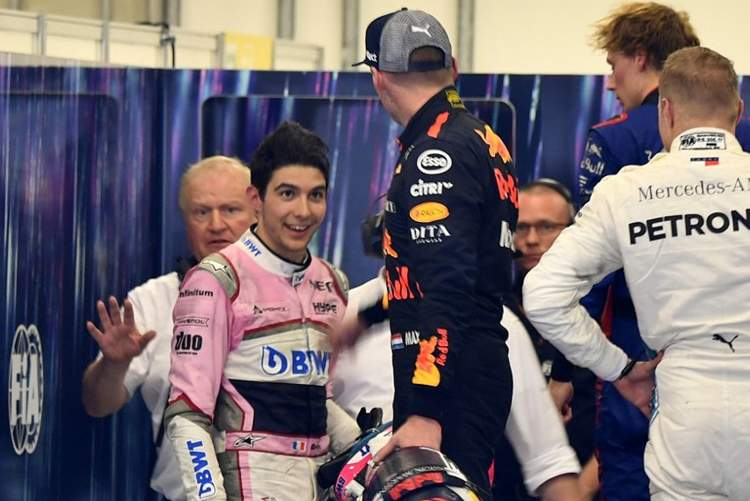 Ocon: I'm very sorry for Max, it was his race to win