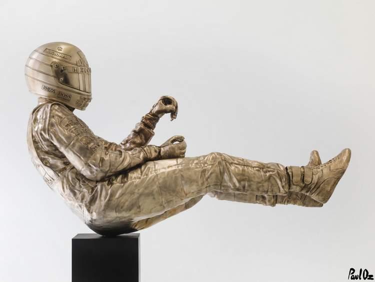 Dit sculptuur van F1-legende Ayrton Senna kan van jou zijn