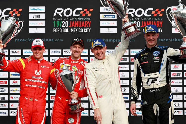 ROC Mexico: Vettel and Schumacher defeated in final