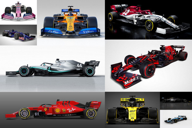2018 Formula 1 cars morph into 2019 successors