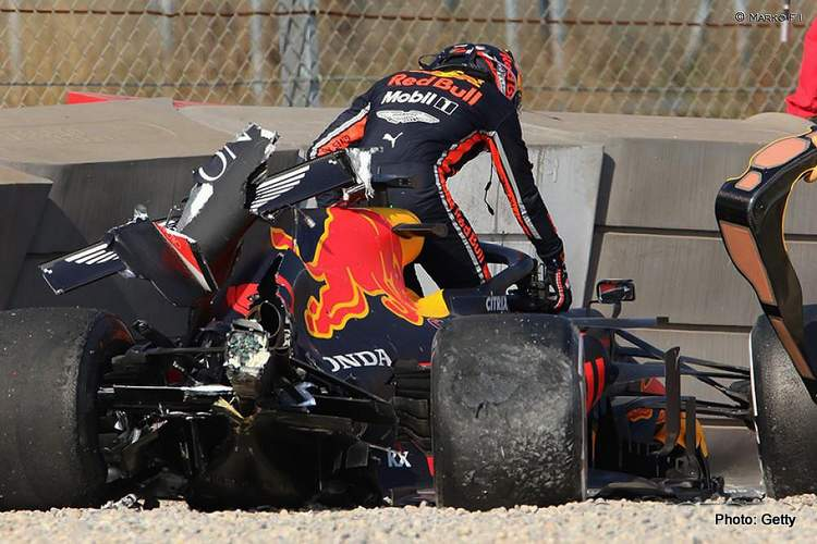 gasly crash photo accident shunt